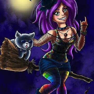 Metal witch by JosephLawn