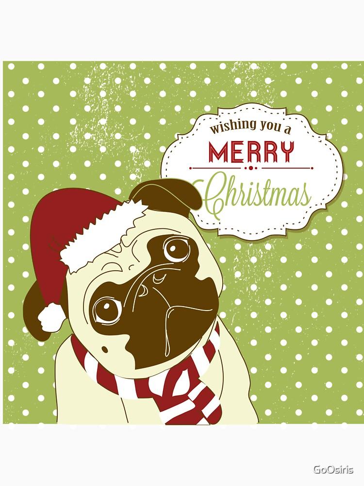 Christmas Pug de GoOsiris