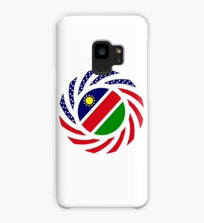 Namibian American Multinational Patriot Flag Series Case/Skin for Samsung Galaxy