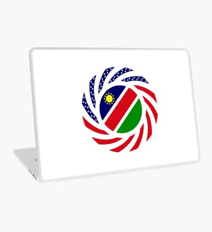 Namibian American Multinational Patriot Flag Series Laptop Skin