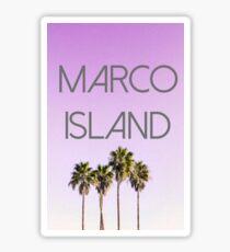 marco island florida Sticker
