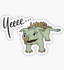 Yee Dinosaur (Peek) Sticker