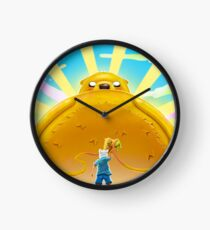 Adventure Time with Finn and Jake Clock
