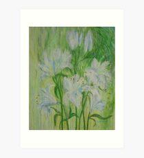 Lily Stems Art Print