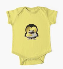 Linux Baby Tux d'Or One Piece - Short Sleeve