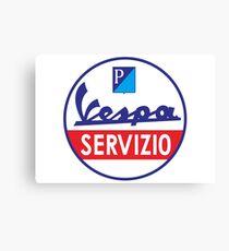 VESPA SERVIZIO Canvas Print