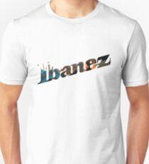 Ibanez Logo Guitar Design  Unisex T-Shirt