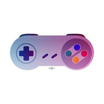 SNES Controller (Nostalgia) by GrantP93