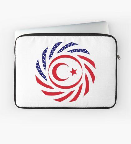Northern Cyprus American Multinational Patriot Flag Series Laptop Sleeve