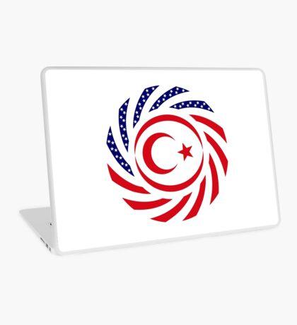 Northern Cyprus American Multinational Patriot Flag Series Laptop Skin