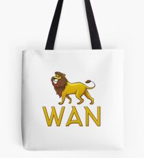 Wan Lion Drawstring Bags Tote Bag