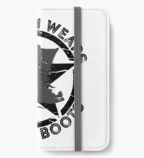 This Mom Wears Combat Boots iPhone Wallet/Case/Skin