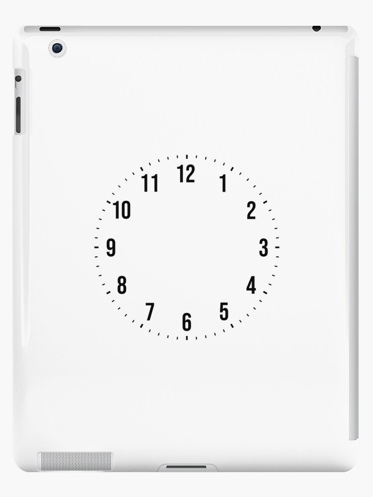 san francisco f746a 78747 'Create Personalize Design Your Own Custom Wall Clock' iPad Case/Skin by  Martstore