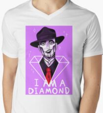 I Am A Diamond Men's V-Neck T-Shirt