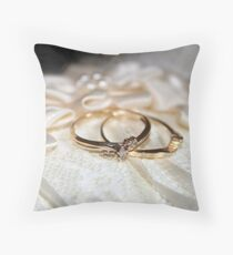 The Rings Throw Pillow