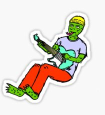 lizard_rock Sticker
