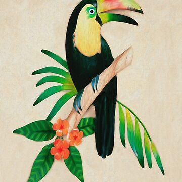 Toucan Art by Skyviper