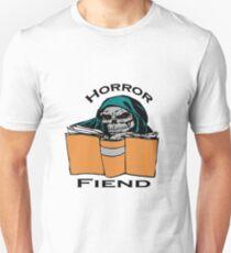 Horror Book Fiend Avid Reader Art Unisex T-Shirt