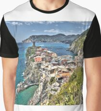 Vernazza Back View Graphic T-Shirt