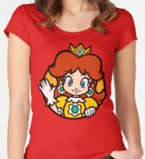 Princess of Sarasaland Women's Fitted Scoop T-Shirt
