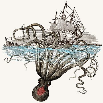 Beware the Kraken! by ProfThropp