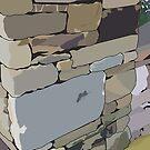Stone wall by Derek Des Anges
