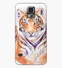 Watercolor Tiger Case/Skin for Samsung Galaxy