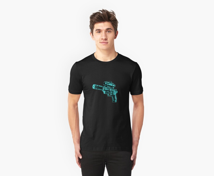 The Turquoise Gun by eritor