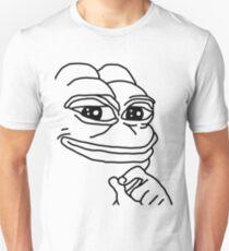 Smug Pepe Unisex T-Shirt