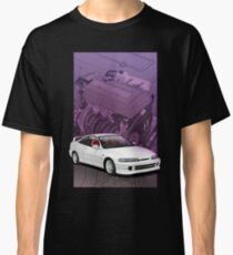 Integra dc2 with b series background  Classic T-Shirt