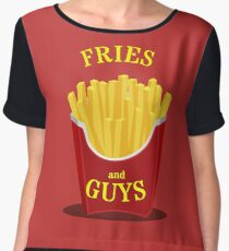 Fries and Guys Chiffon Top