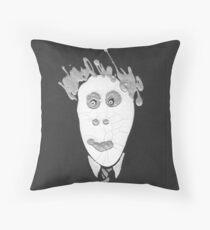 Slenderman - Le Spectre Throw Pillow