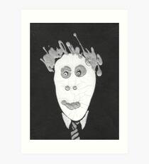 Slenderman - Le Spectre Art Print