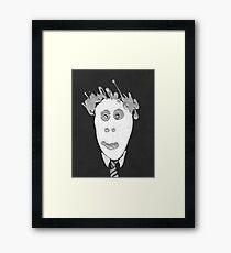 Slenderman - Le Spectre Framed Print