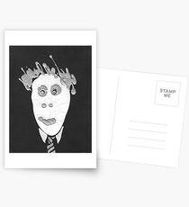 Slenderman - Le Spectre Postcards