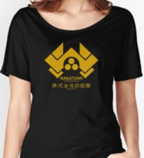 Nakatomi Women's Relaxed Fit T-Shirt