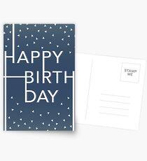 Birthday Card Postcards