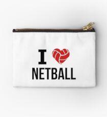 I love Netball Studio Pouch