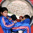 Bolivian Children , Pototsi Bolivia 2009 by Tash  Menon