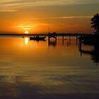 South Beach Sunset  by Amanda Diedrick