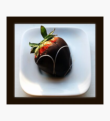 chocolate dipped Photographic Print