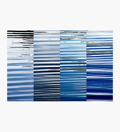 Into Blue  Photographic Print