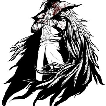 Bloodborne - Eileen the Crow Drawing by CataRedBubble