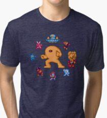 ManMega One Pixels Tri-blend T-Shirt