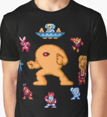ManMega One Pixels Graphic T-Shirt