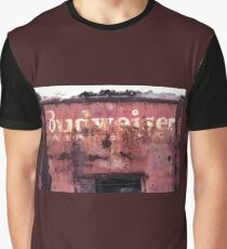 Abandoned Budweiser Truck With Bullet Holes Graphic T-Shirt