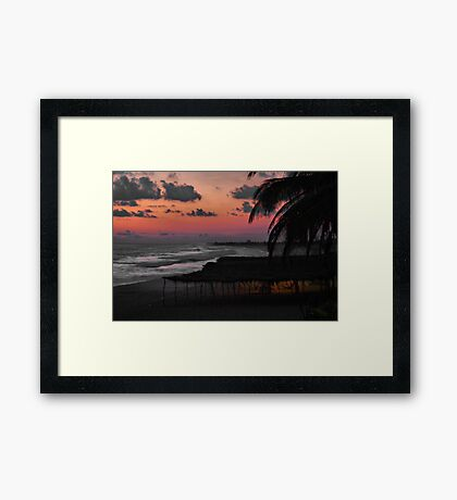 A View From My Room, Day 3 Framed Print