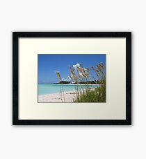 Treasure Cay Beach III Framed Print