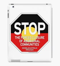 OFFICIAL MERCHANDISE - #SOSBLAKAUSTRALIA design 2 iPad Case/Skin