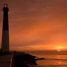 Sunset at Barnegat Lighthouse by shawng13